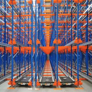 China Supplier Commercial Pallet Runner Radio Shuttle Storage System