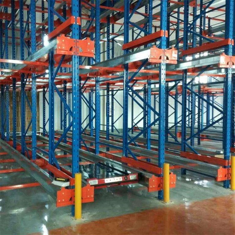 China Manufacturer High Quality Industrial Warehouse Radio Shuttle Racks With Pallet Runner