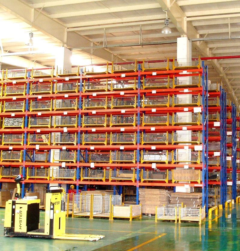 Jiangsu Union Metal Shelving Racks Warehouse Storage for Industrial Storage