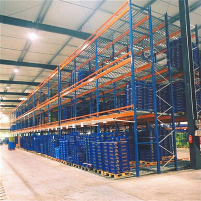 ISO Approved China Nanjing Manufacturer Steel Fabric Roll Collapsible Pallet Rack