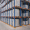 Heavy duty metal warehouse storage drive in pallet rack system for industrial storage