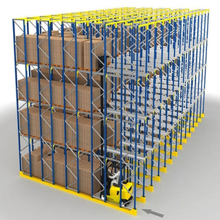 Selective high quality normal heavy duty drive in racks for storage solutions