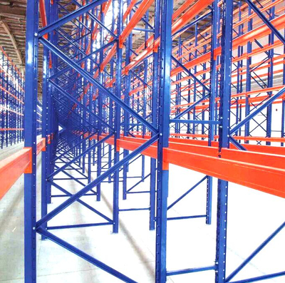 Tire Stackable Fabric Roll Pallet Rack System