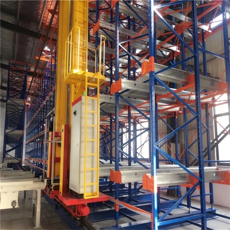 Automated Storage and Retrieval System (ASRS) with Automated Stacker Crane