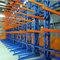 Single Side Warehouse Racks Adjustable Heavy Duty Cantilever Racking