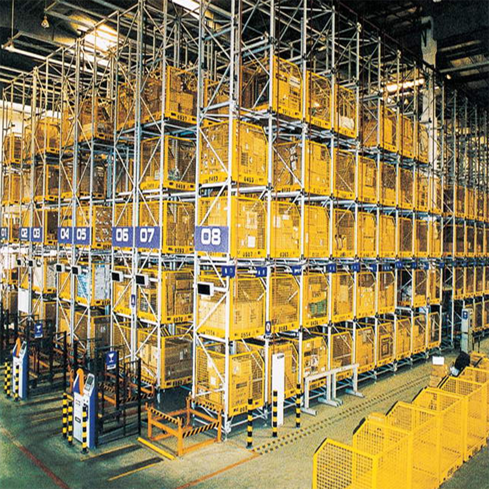 JIangsu Union Automatic Heavy duty Warehouse ASRS Racking With CE Certificate