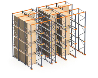Jiangsu Union New products wholesale 800-2500kgs/pallet warehouse pallet drive in racking