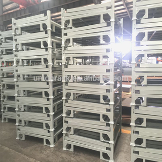 Warehouse Storage Use Stacking Steel Powder Coated Pallet Stack Rack