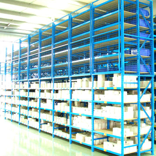 Warehouse Storage Multi-Level Steel Longspan Shelving
