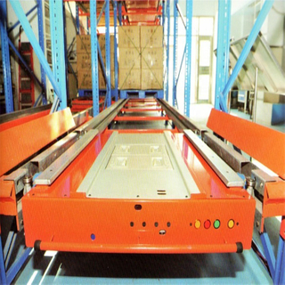 Factory sales directly industrial automation warehouse storage pallet radio shuttle vehicle