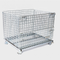 Industrial Logistic Portable Storage Container Heavy Duty Steel Wire Mesh Cage