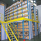 ISO Certificate Warehouse Multi Level Steel / Metal Decking Mezzanine Rack