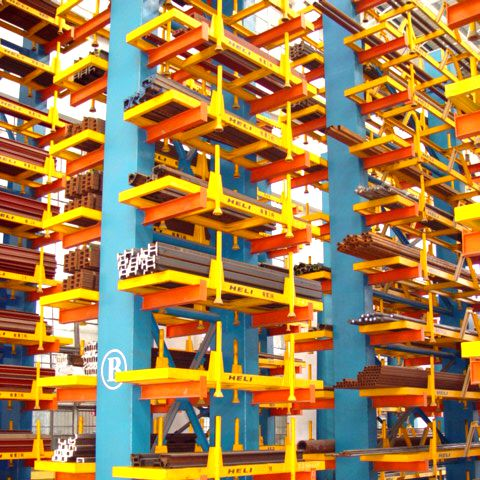 Factory High Quality Pipe or Lumber Warehouse Storage Cantilever Racking System