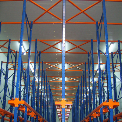 Metal steel heavy duty drive in pallet rack