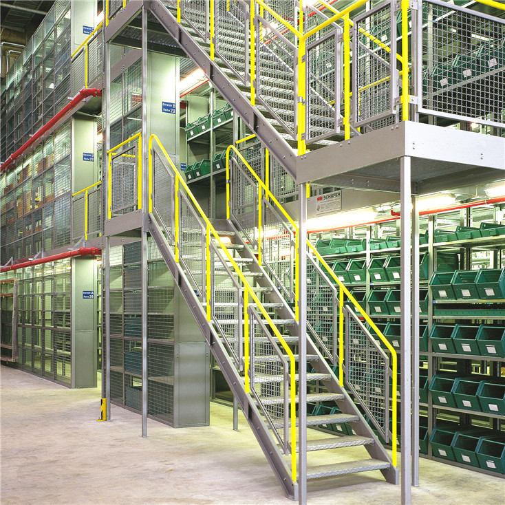 High Performance Steel Platform Mezzanine Floor Racking