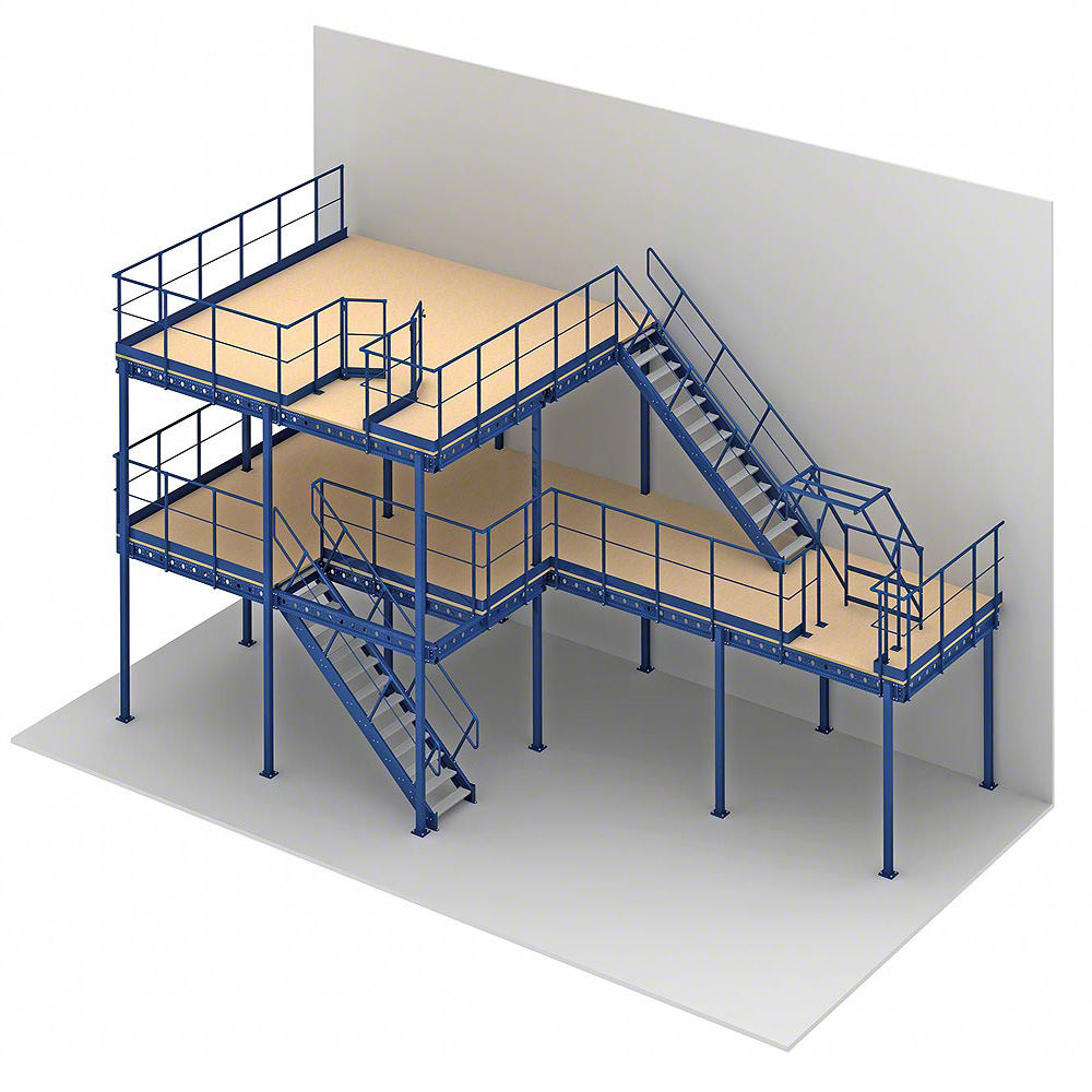 Mezzanine Floor Storage Shelving Mezzanine Floor Rack Manufacturer