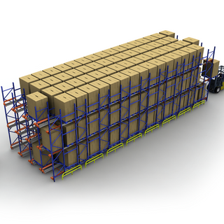 High Density Warehouse Pallet Radio Shuttle Racking System