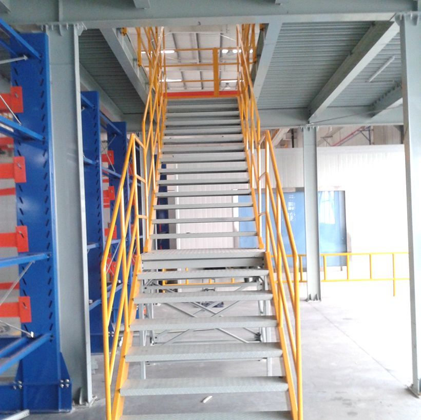 Medium Duty Multi Level Steel Decking Mezzanine storage Rack