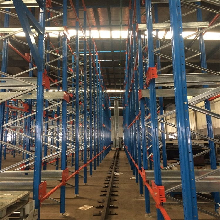 CE Certificated High Density ASRS Automated Storage And Retrieval System With Stacker Crane And Radio Shuttle Car