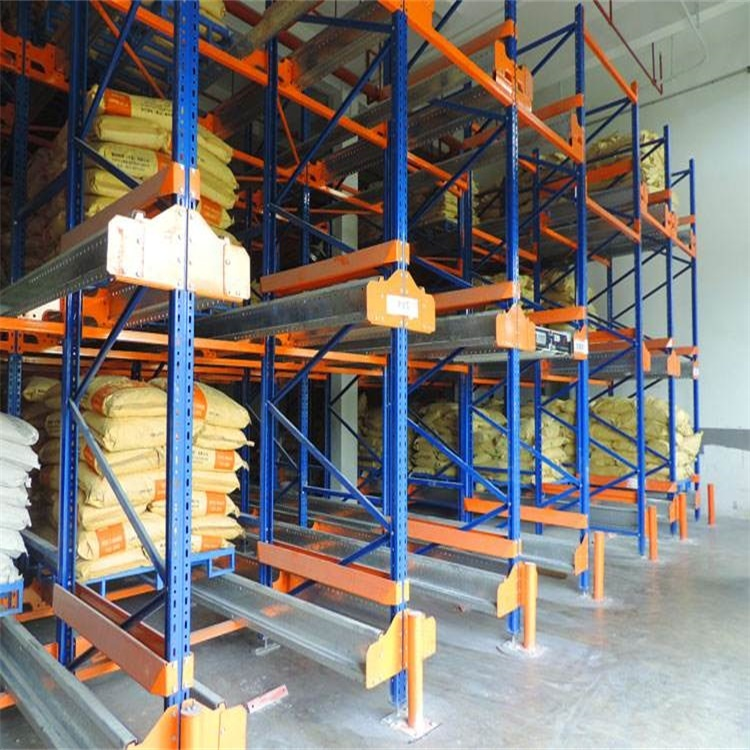 High Density Warehouse Automatic Radio Controller Heavy Duty Pallet Shuttle Rack