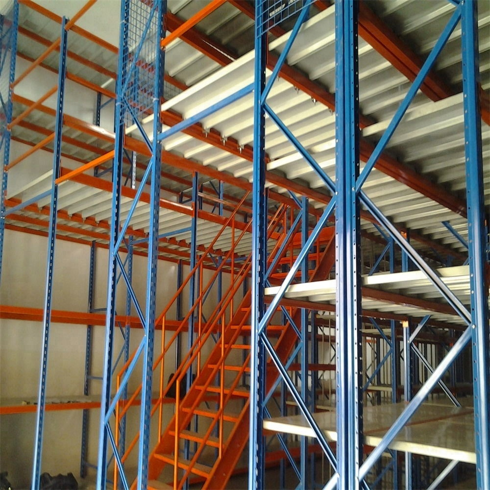 Heavy Duty Industrial Warehouse Steel Mezzanine Floor Rack