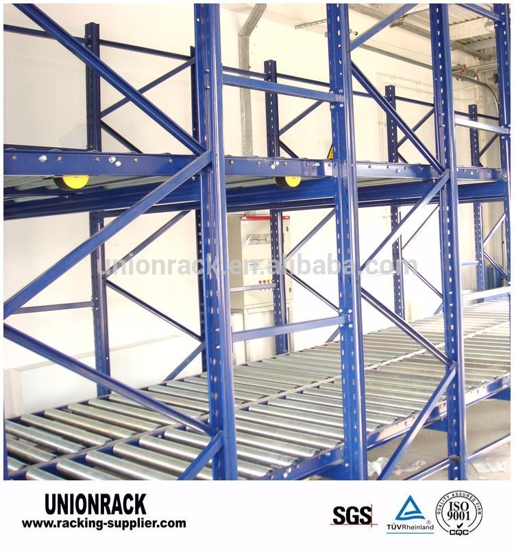 Heavy Duty FIFO Gravity Roller Rack