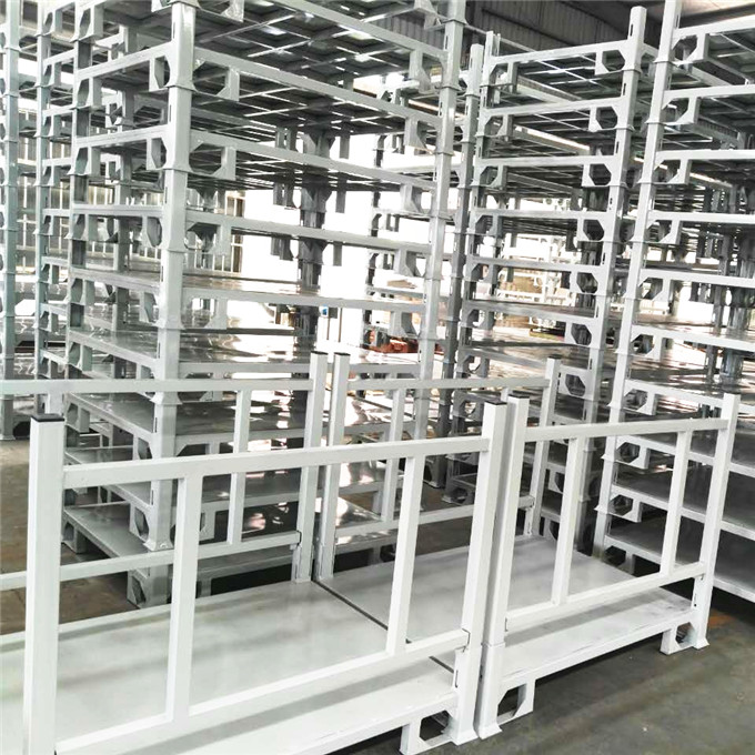 Warehouse Corrosion Prevention Steel Storage Stackable Pallet Rack