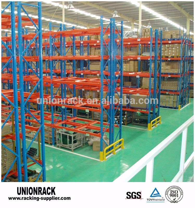 Rust Protection Storage Cargo Heavy Duty Pallet Shelving Warehouse Rack System
