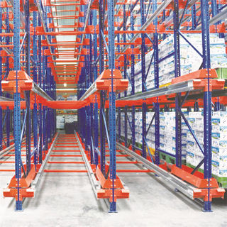 Double Deep Double Column Warehouse ASRS with stacker crane
