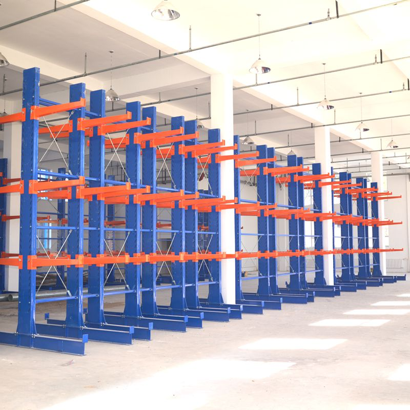 Long Cargoes Store Solution Heavy Duty steel pipe storage rack