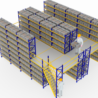 ISO Certificate Heavy Duty Adjustable Warehouse Multi-tier Steel Platform Mezzanine Floor Racking System