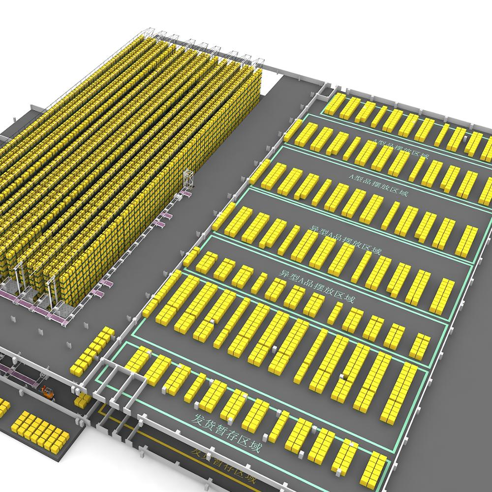 Union Automated Storage and Retrieval Storage Racking ASRS System
