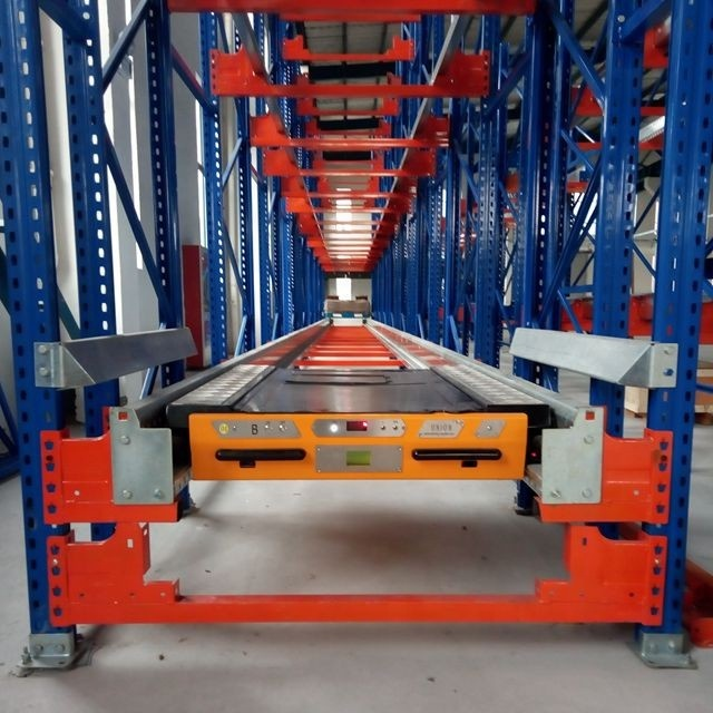 High warehouse/cold storage radio shuttle pallet runner racking with competitive factory price