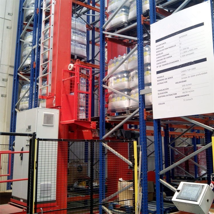 Save Labor Cost 60% Industrial Heavy Duty Warehouse Automatic ASRS System