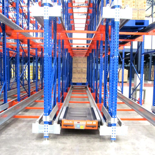 Warehouse Economic Radio Shuttle Rack