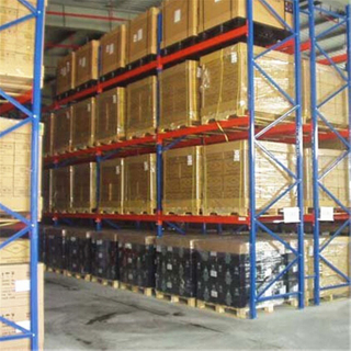 Powder Coating Heavy Duty Steel Pallet Racking For Industry Storage
